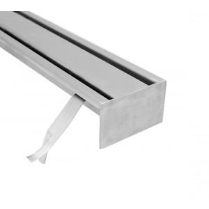 Slitt stainless steel industrial floor drains with top