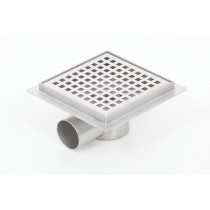 Square floor drains